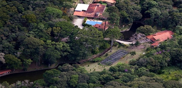 O sítio em Atibaia, frequentado por Lula e familiares
