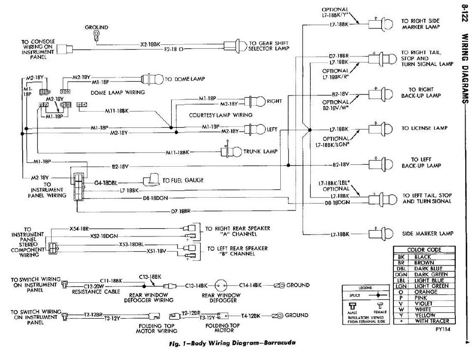 Diagram 1970 Cuda Wiring Diagram Horn Full Version Hd Quality Diagram Horn Shock One Weblula It