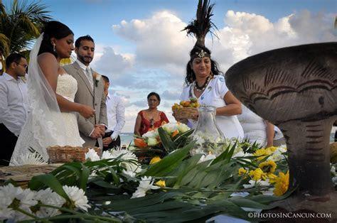 Mayan Wedding Ceremony   Maya Riviera   Photos In Cancun