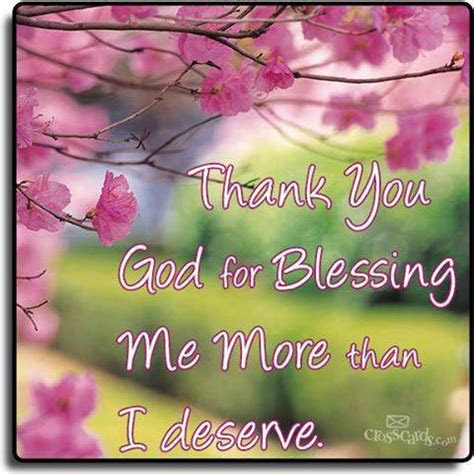 Thank You God For Blessing Me Quotes