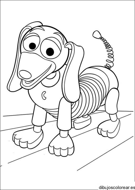 Dibujo Del Perro De Toy Story