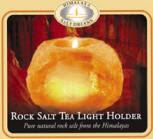 Himalayan Crystal Salt Crystal Votive & Tealight Candle ...