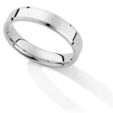 platinum essentials wedding rings
