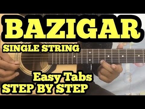 Baazigar O Baazigar Guitar Tabs/Lead Lesson | SINGLE STRING