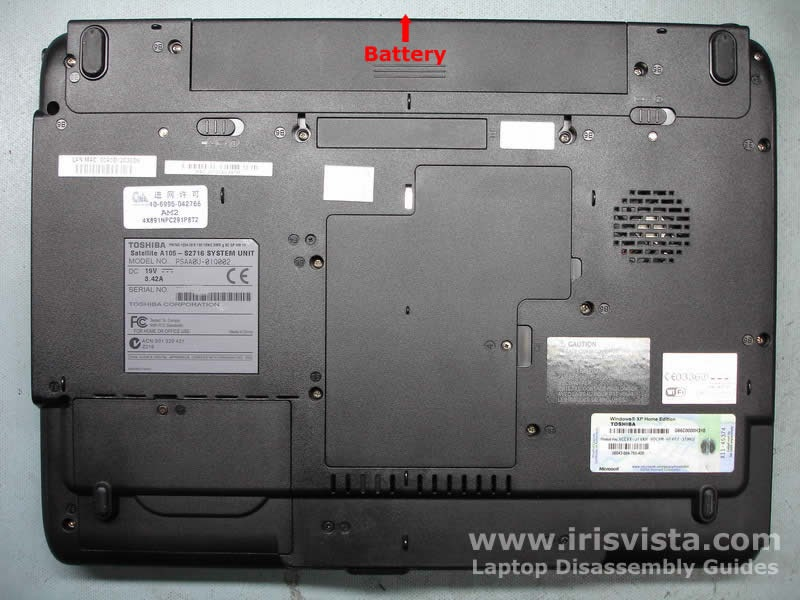 How To Fix Your Toshiba Laptop Battery