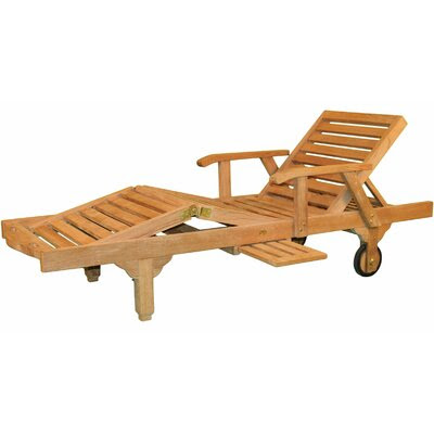 Wooden Chaise Lounge | Simple Home Decoration