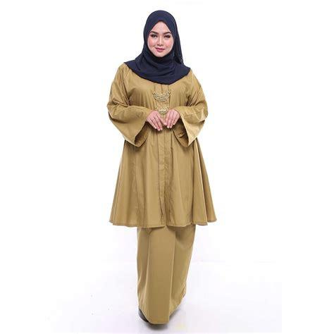 anita baju kurung malaysia baju  size wanita