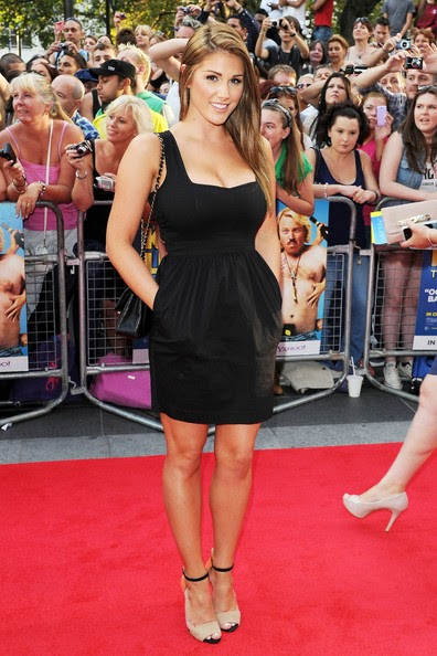 """Lucy Pinder at the """"Keith Lemon: The Film"""" red carpet premiere held at the Odeon at Leicester Square in London."""
