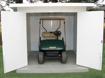 Guide To Get Golf Cart Storage Sheds Drawing Plan