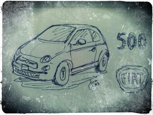 Fiat 500 by JMADesigner