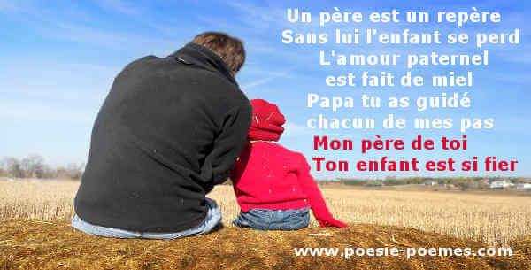 Poème Pour Papa Merci Mon Père Textes En Hommage Aux Pères