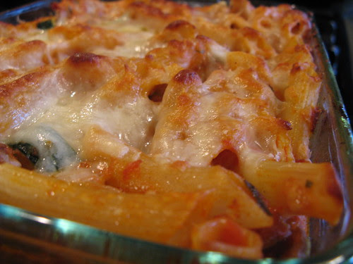 Baked Penne & Sausage