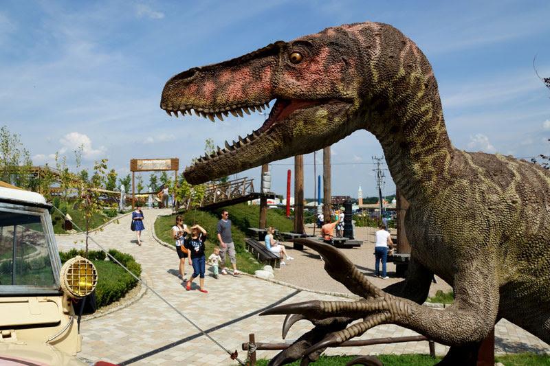 Dinoland Inwałd rodzinne atrakcje