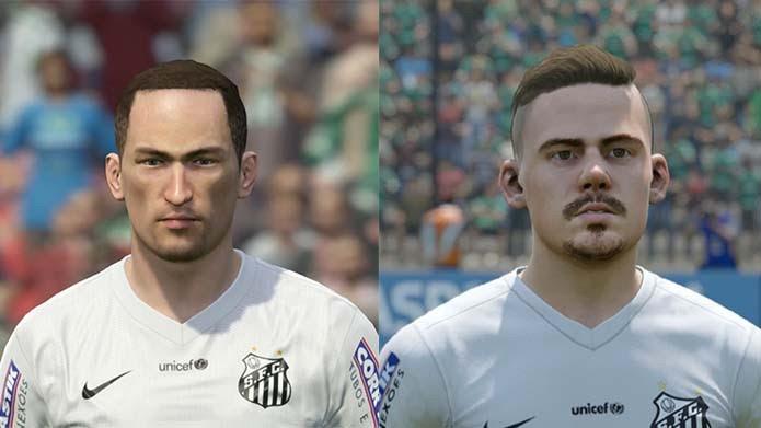 Lucas Lima, do Santos, ficou melhor em Fifa 16 (Foto: Reprodução/Murilo Molina)