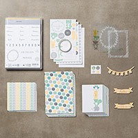 Bundle Project Life Hallo Baby Boy (German) by Stampin' Up!