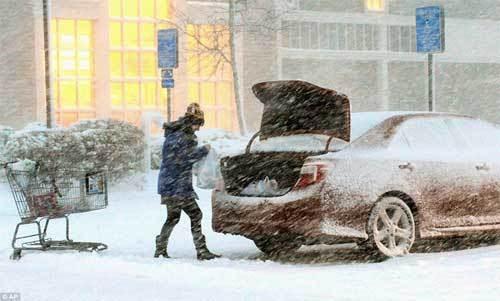 bão tuyết, lạnh giá, chết người, Mỹ, khẩn cấp, lạnh thấu xương