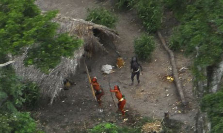 Lost tribe found in Brazil