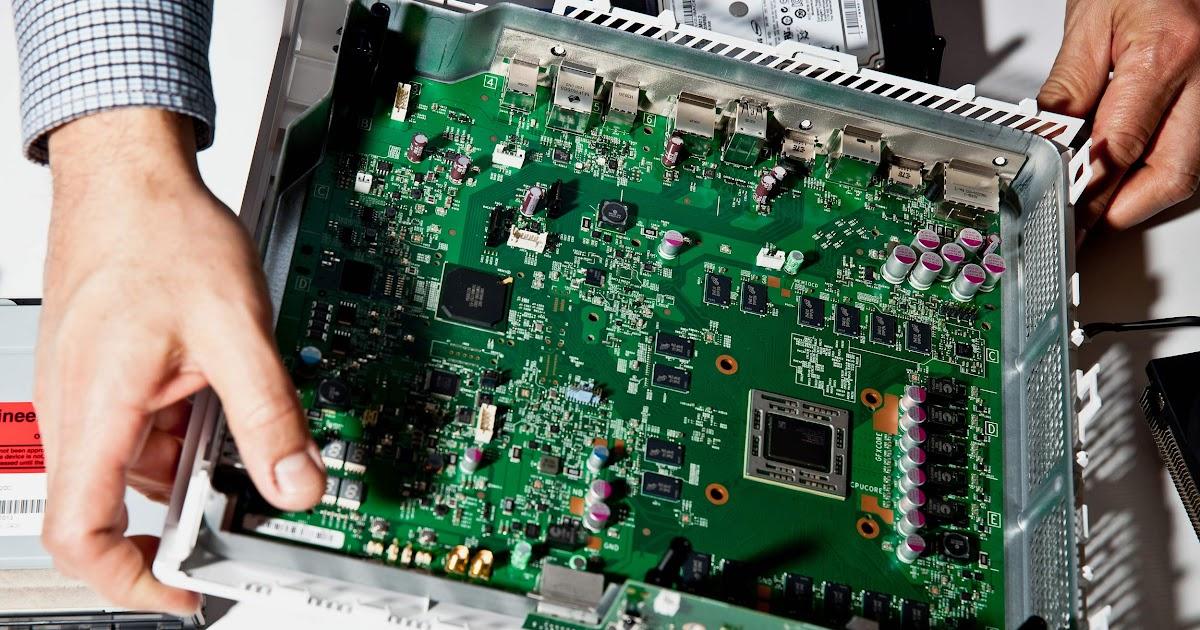 Xbox 1 Xbox One Motherboard Diagram