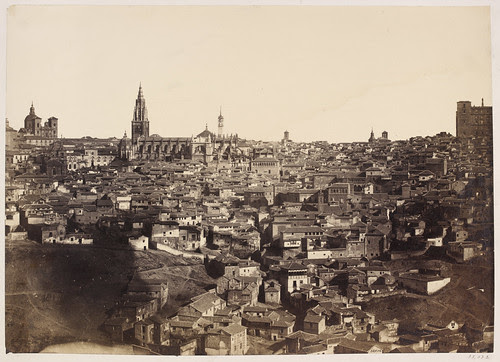 Vista General de Toledo en 1857. Fotografía de Charles Clifford. Victoria and Albert Museum, London