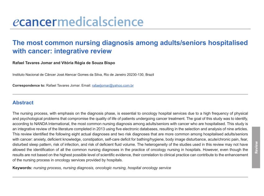 Nanda Nursing: 8+ Nanda Nursing Diagnosis List 2021