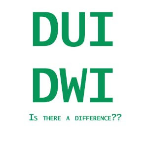 Difference Between DUI and DWI? - Request Legal Services