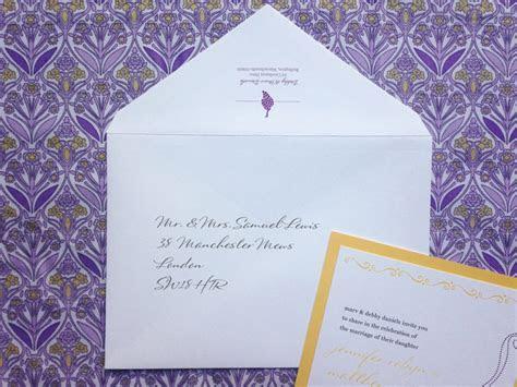 How to Address Wedding Invitations   Envelope Etiquette
