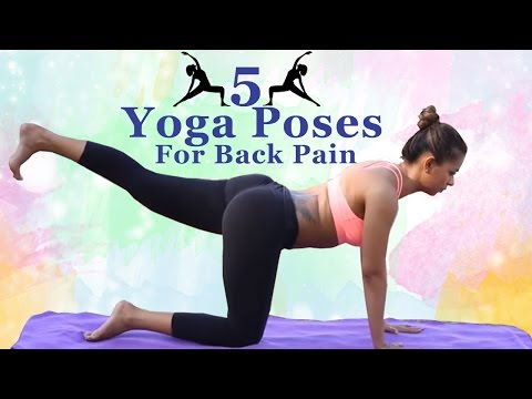 5 yoga exercises for lower back pain