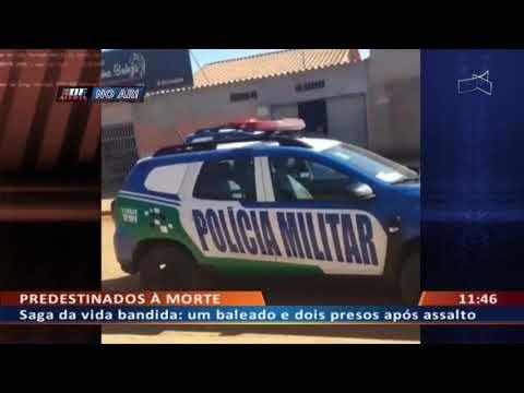 Assaltaram em Brazlândia mas foram presos pela PM em Águas Lindas