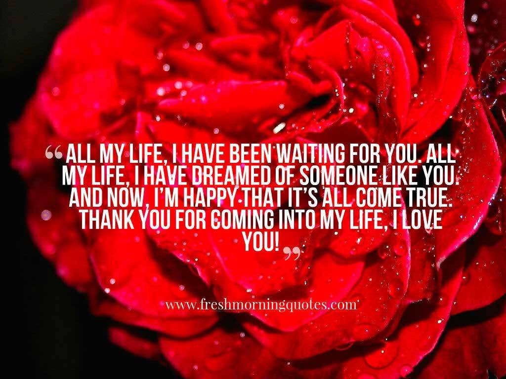 Love my life quotes · You are my Everything Quotes for Him and Her Freshmorningquotes