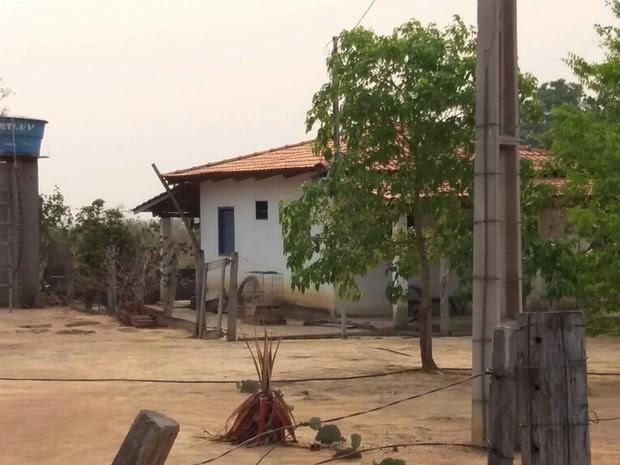 Pai e filho estavam desaparecidos desde sexta-feira (9) em Vila Rica; eles foram mortos na fazenda (Foto: Assessoria/Polícia Civil de MT)