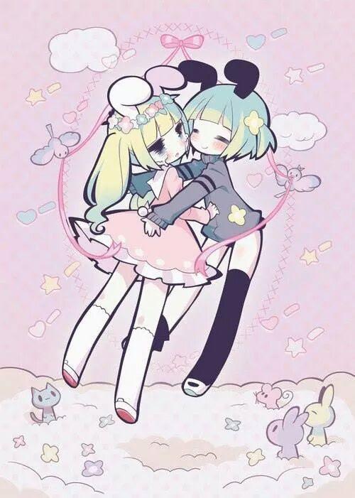 Anime Kawaii Girl Unicorn - Anime Wallpaper HD