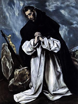 El Greco, St Dominic in Prayer