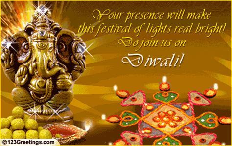 Do Join Us On Diwali  Free Specials eCards, Greeting
