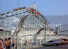 Coney Island Beach in New York