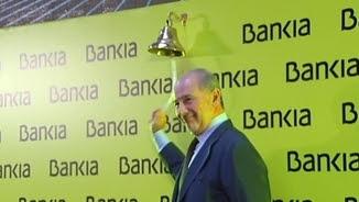 Rato el dia que Bankia va sortir a borsa