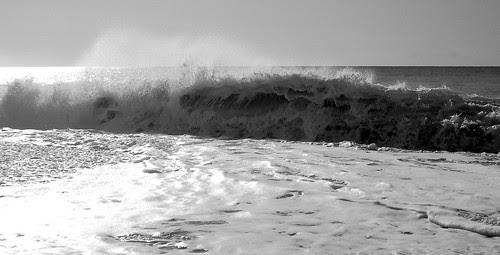 Breaking wave in Paphos