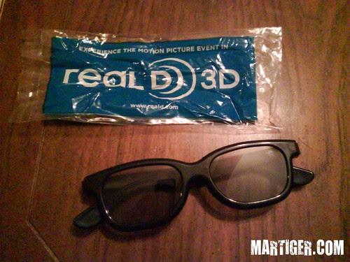 AVATAR 3D  glasses