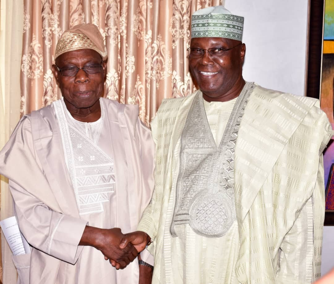 """I Have Forgiven Him, He Is Better Than Buhari"" – Six Key Things Obasanjo Said After His Closed Door Meeting With Atiku"