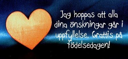 Alles gute zum geburtstag schwedisch