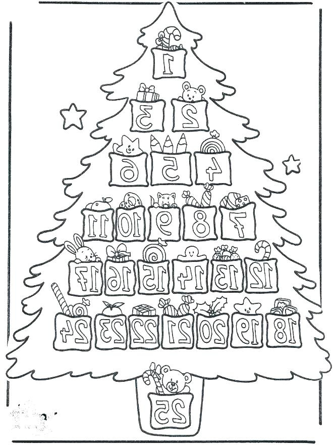 Advent Calendar Coloring Pages at GetColorings.com | Free ...