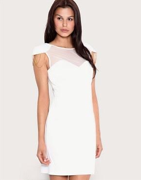 Image 1 ofForever Unique Shoulder Detail Dress