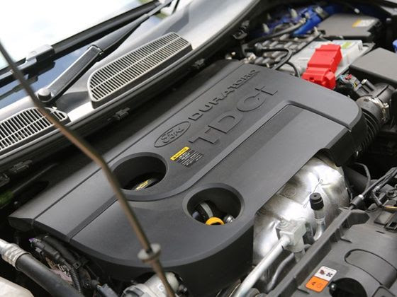 2014 Ford Fiesta engine