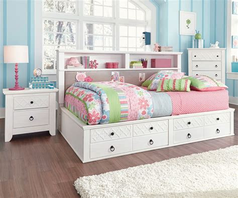 kids full size bed  storage ns
