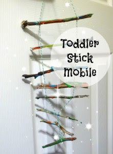 toddler stick mobile