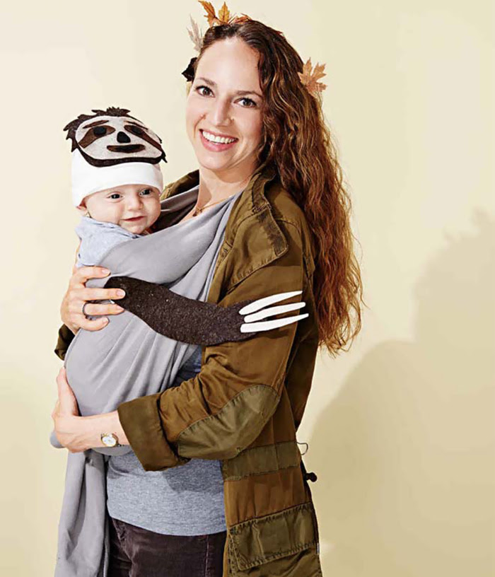 Sloth Baby And Mother Tree Costume