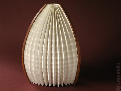 Washi Paper African Lamp
