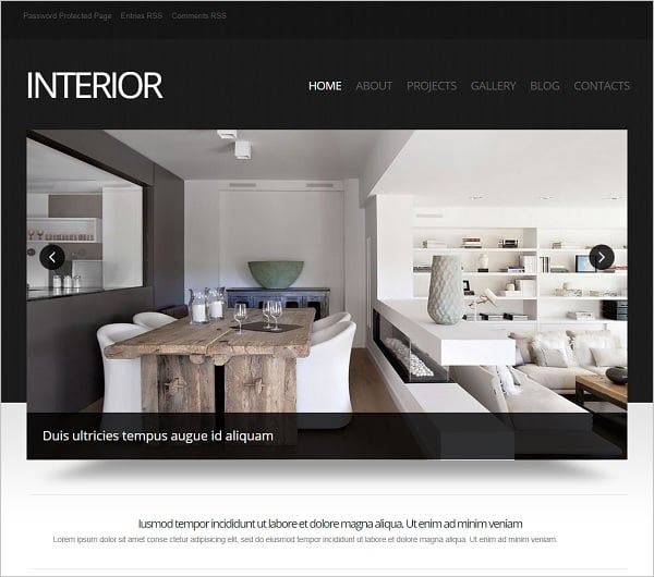 Home Ideas - Modern Home Design: Interiors Design Websites