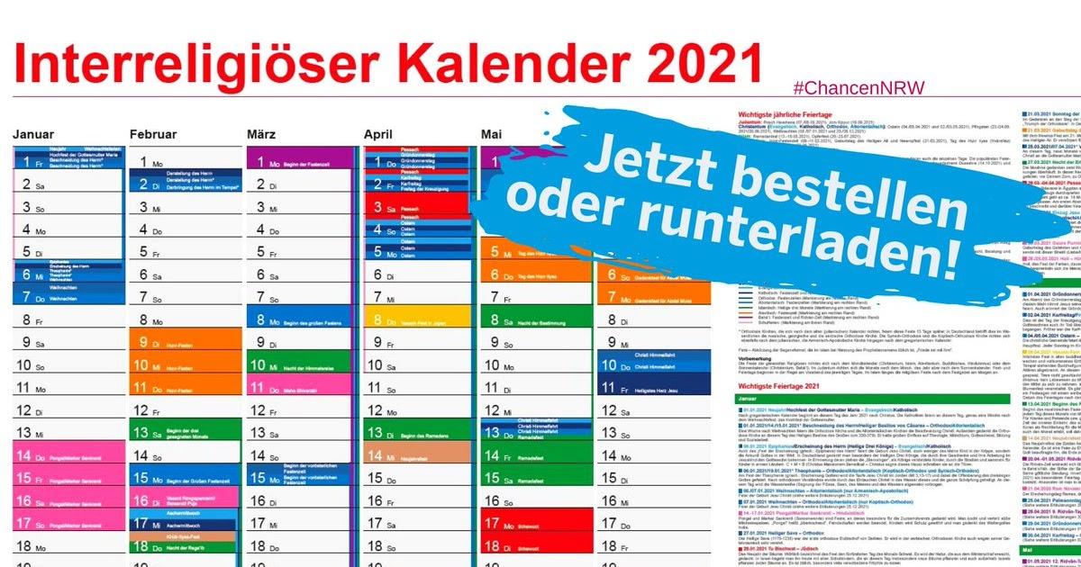 Kalender 2021 Nrw - Kalender 2021 Nrw Ferien Feiertage ...