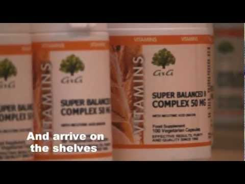 How are vitamins made?