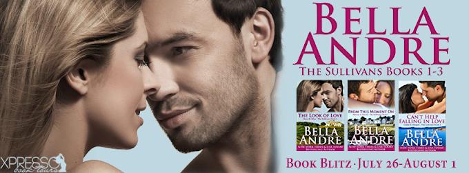 Book Blitz: The Sullivans Boxed Set   Bella Andre